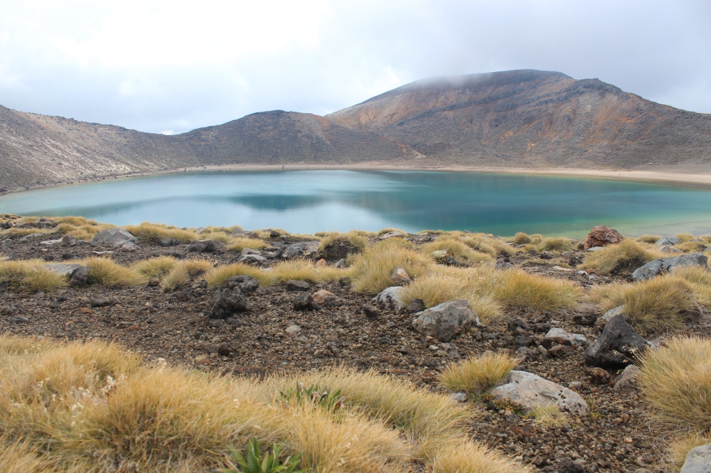The eerie Blue Lake on the Tongariro Crossing just one of Stray's stops.